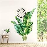 SKays Wandaufkleber Tropische Pflanzen Wandsticker Blätter Wandaufkleber Grünpflanzen-Aufkleber Wandtattoo für Kinderzimmer Wohnzimmer Schlafzimmer,