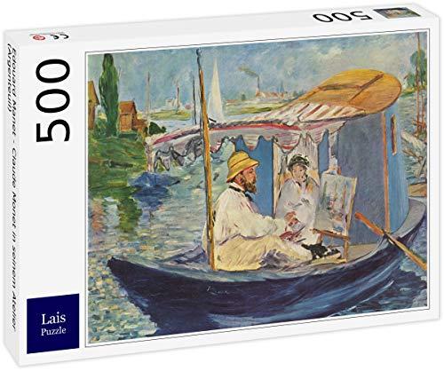 Lais Puzzle Edouard Manet - Claude Monet nel Suo Studio (Argenteuil) 500 Pezzi