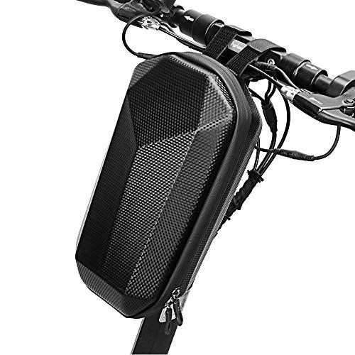 Lixada Scooter handlebar tas Waterdichte Hard Shell EVA opbergtas voor fiets opvouwbare elektrische scooter