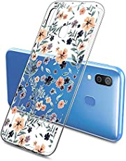 Oihxse Funda Samsung Galaxy Note 8, Ultra Delgado Transparente TPU Silicona Case Suave Claro Elegante Creativa Patrón Bumper Carcasa Anti-Arañazos Anti-Choque Protección Caso Cover (A14)