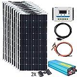 XINPUGUANG 100w Flexible Solar Panels 24V 1000W Solar System Kit review