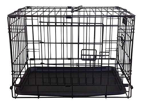 simplement Plus pliable double porte Cage/cage