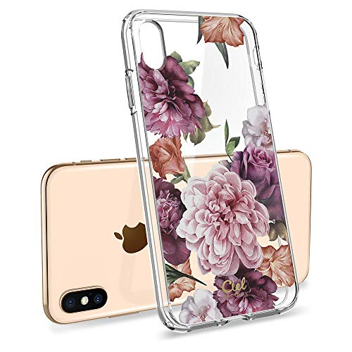 Ciel by Cyrill [Cecile Collection] Designed for Apple iPhone Xs Max Case (2018) - Rose Floral