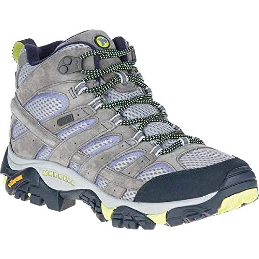 ヘクタール資格論理[メレル] レディース ブーツ&レインブーツ Moab 2 Mid Waterproof Hiking Boot [並行輸入品]
