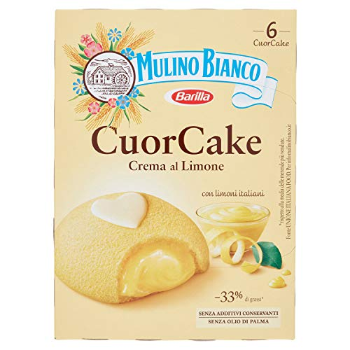 MULINO BIANCO - MERENDE CUOR CAKE CON CREMA AL LIMONE - 210...