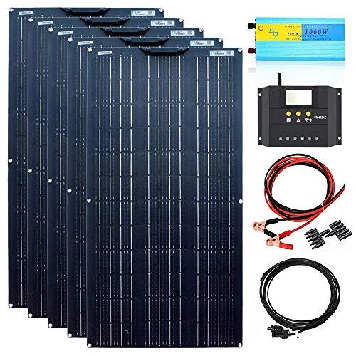 Paneles Solares Flexibles 500W Marca W&HH