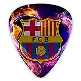 Fc Barcelona - Juego de 12 púas de guitarra (apta para guitarras eléctricas y acústicas)