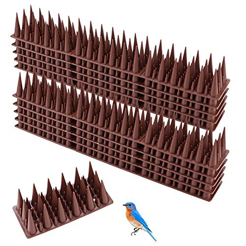 TBCWRH Dissuasori per Piccioni Gatti, 4.2m Repellente per Uccelli, Dissuasori per Piccioni, Kit Spuntoni per Balcone Terrazza Finestra Anti Piccioni