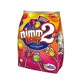 nimm2 Lolly (1 x 200g) / Fruchtige Lutscher mit Vitaminen in 4 Sorten -