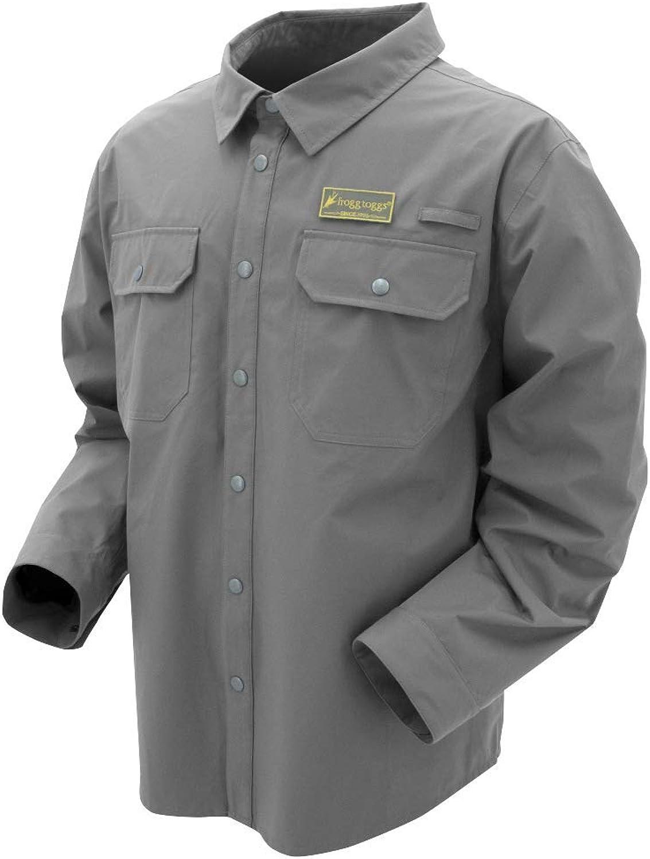 Frogg Toggs Pilot Jac Shirt, Water-Resistant Work Shirt