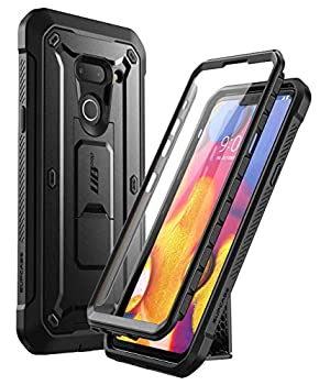 SUPCASE Unicorn Beetle Pro Series Designed for LG G8 Case & LG G8 ThinQ Case 2019 Release  Full-Body Rugged Holster Case with Built-in Screen Protector  Black
