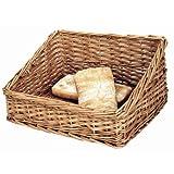 Cesto per pane in vimini naturale, 170 x 360 x 300 mm