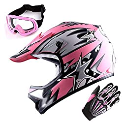dirt bike helmets with goggles