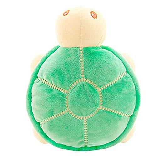 EREL 45 cm Plüschschildkröte Kissen Spielzeug Schildkröte Nette Puppe Kissen Matratze Für Natürliche Schlaf dedu