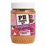 PB Crave Raspberry White Fudge Peanut Butter Spread - 16 Ounce Each