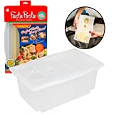 Microwave Pasta Cooker- The Original Fasta Pasta Family Size- Cooks up to 8 Servings of Pasta- No...