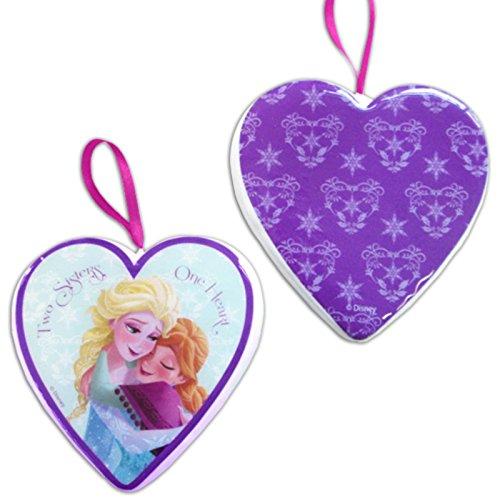 1 Décoration sapin de noël 8cm - Elsa et Anna de La Reine des neiges