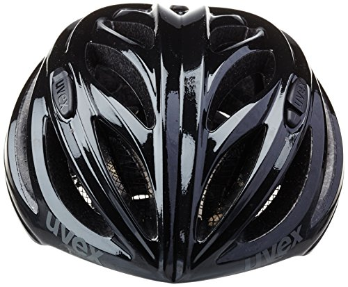 uvex Unisex– Erwachsene, boss race Fahrradhelm, black, 52-56 cm - 5