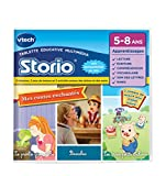 Vtech - 233705 - Storio 2 et générations suivantes - Jeu Educatif - Storio Contes Traditionnels (Pinocchio + 3 Petits Cochons + La Princesse Et La Grenouille)