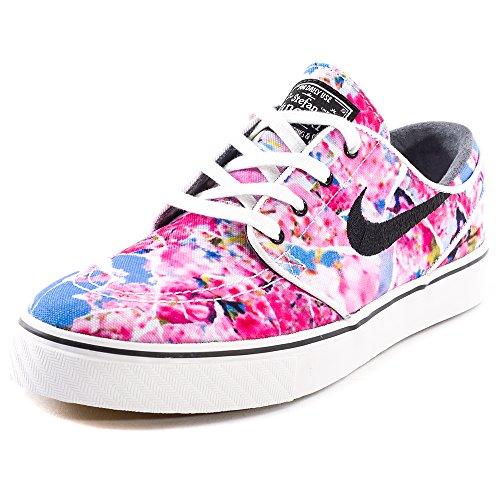 Nike Herren Zoom Stefan Janoski CNVS PRM Skateboardschuhe, Pink Schwarz Weiß Dynmc Pnk Schwarz Weiß Gm Lght Br, 45 EU