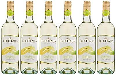 Echo Falls Chardonnay Pinot Grigio Wine, 75 cl (Case of 6)