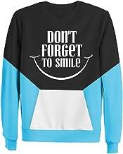 Men's Sweatshirt Don't forget to smile