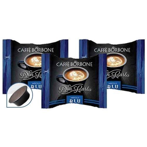 200 Capsule COMPATIBILI A MODO MIO CAFFE' BORBONE Don CARLO MISCELA BLU