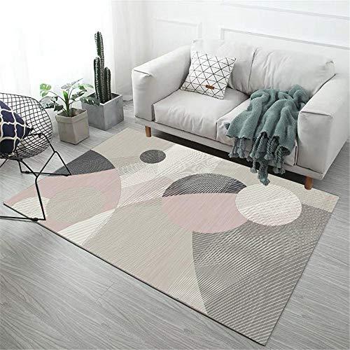 Kunsen alfombras pie de Cama Alfombra Infantiles Alfombra de Dormitorio Rectangular Antideslizante y a Prueba de Humedad Puede Estar Listo alfombras a Medida Online 180X280CM 5ft 10.9' X9ft 2.2'