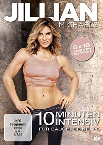 Jillian Michaels - 10 Minuten Intensiv für Bauch, Beine, Po