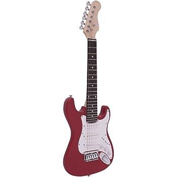 Dimavery J de la 350 y de la Guitarra eléctrica ST roja: Amazon.es ...