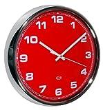 Cabanaz - Reloj de pared, color rojo