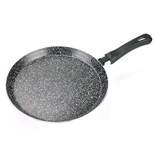 ALLUFLON Tradizione Italia Crepera, Aluminio, Negro, 22 cm