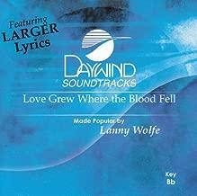 Love Grew Where The Blood Fell Accompaniment/Performance Track