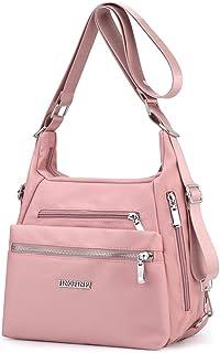 YANAIER Rucksack Tasche Damen 3 in 1 Handtasche Schultertasche Stilvolle Multifunktionale Umhängetaschen für Reise Outdoor...
