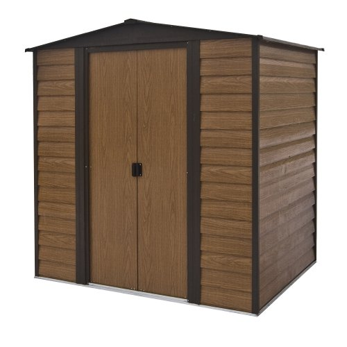 Rowlinson 6 x 5ft Woodvale Metal Shed
