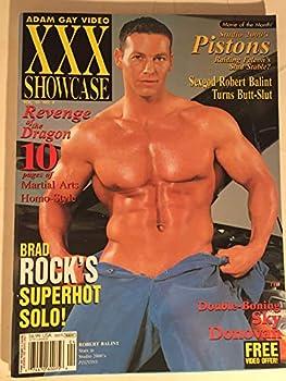 Adam Gay Video XXX Showcase Magazine Cover Hunk Robert Balint vol.10 #4 October 2002