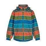 Color Kids Jacket stribed Recycle Giacca, Piastrella Turca, 140 cm Bambino