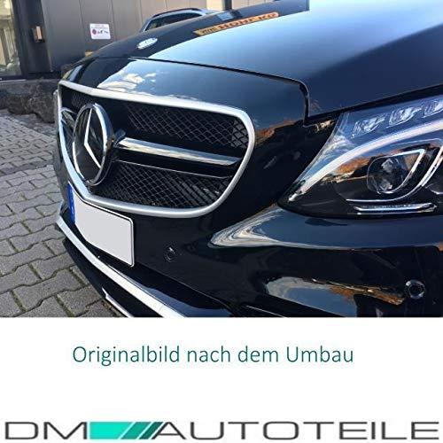 51I0b8DX+IL - DM Autoteile Stoßstange vorne +Grill+ Zubehör passend für C-Klasse S205 W205 C63 15>