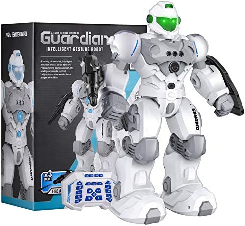 Sonomo Toys for 6-9 Year Old Boys, RC Robot Gifts for Kids Intelligent Programmable Robot with 2.4GHz Sensing Gesture Control – Upgraded Version