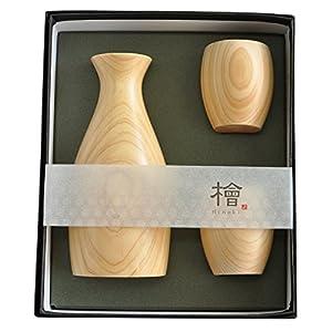 ヤマコー 粋・丸ぐいのみ 3点セット 日本製 888931 ナチュラル