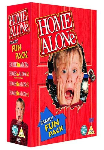 Home Alone 1-4 Box Set (4 Discs)