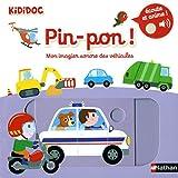 Pin-pon ! Mon imagier sonore et animé des véhicules Dès 1 an (7)