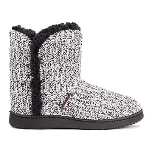 MUK LUKS Women's Cheyenne Slippers - Light Grey