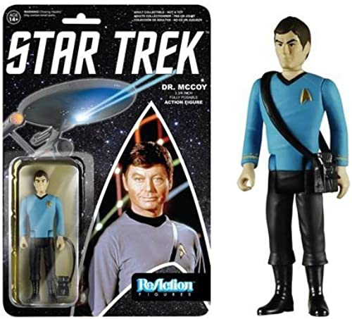 REACTION  STAR TREK-DR MCCOY-NLA by FunKo