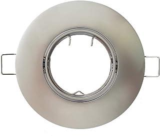 Conalux Aro empotrable Redondo orientable N/ÍQUEL 105 mm para Bombilla LED 4024-02