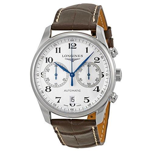 Longines Reloj Cronógrafo para Hombre de Automático con Correa en Cuero L26294783