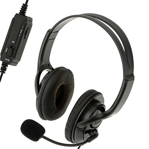 Xiton Wired Gaming Stereo-Kopfhörer-Kopfhörer mit Mikrofon für Playstation 4 PS4