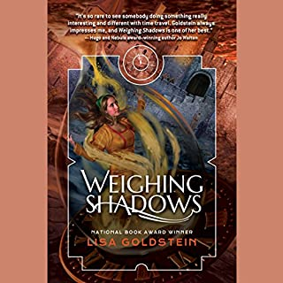 Weighing Shadows audiobook cover art