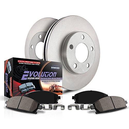 Power Stop KOE5863 Autospecialty Front Replacement Brake Kit-OE Brake Rotors & Ceramic Brake Pads