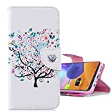 COTDINFORCA Card Case for Xiaomi Redmi Note 8 Coque, Redmi Note 8 Wallet Shell Flip Art Painted PU...